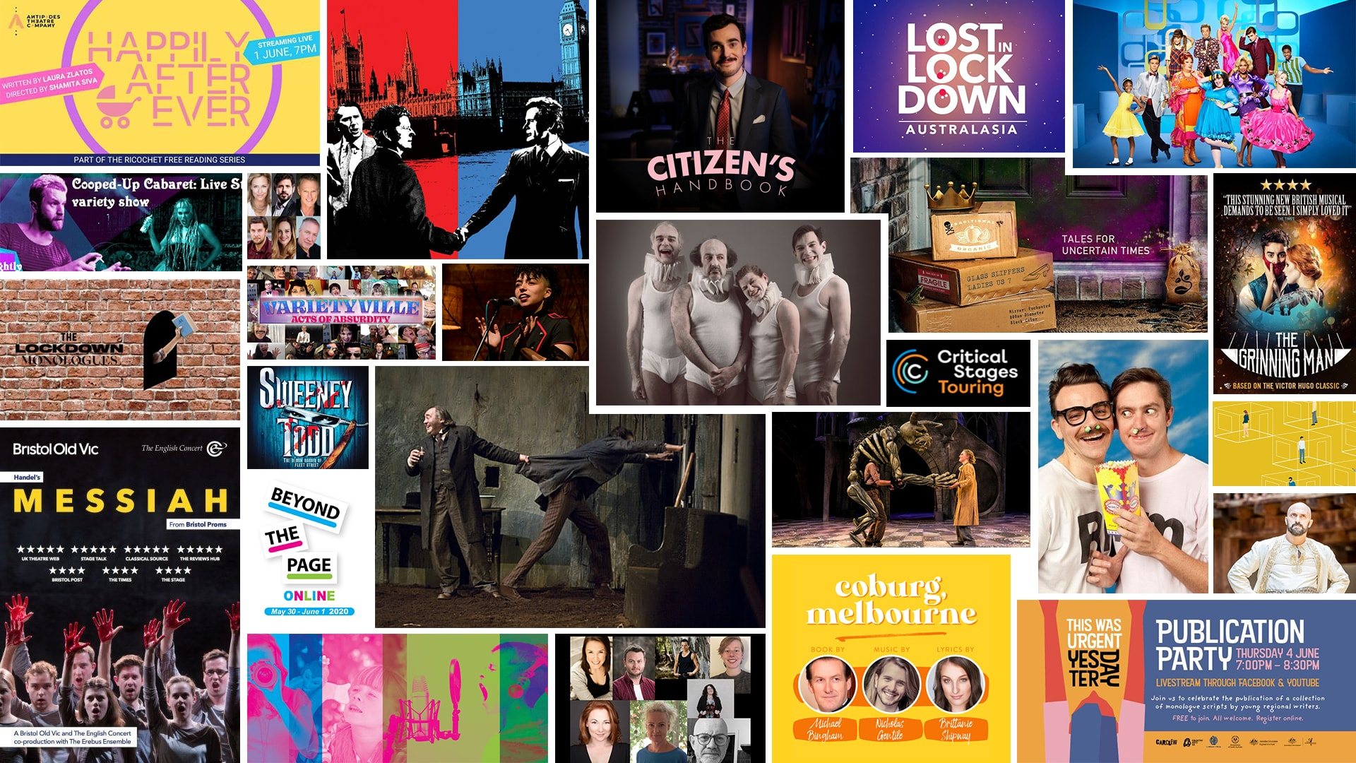 Stage & Stream – Streaming Theatre & Cabaret – May 29 to June 4