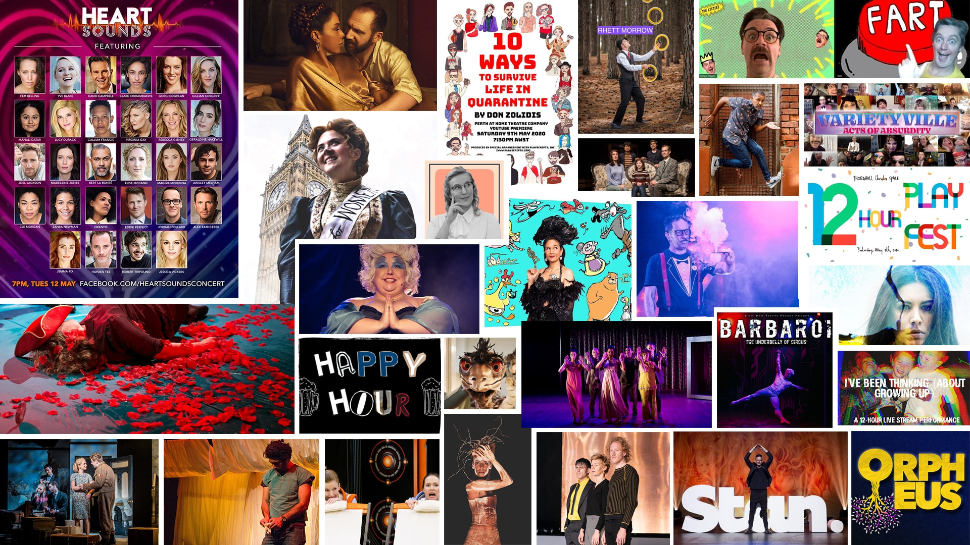 Stage & Stream – Streaming Theatre & Cabaret – May 8-14