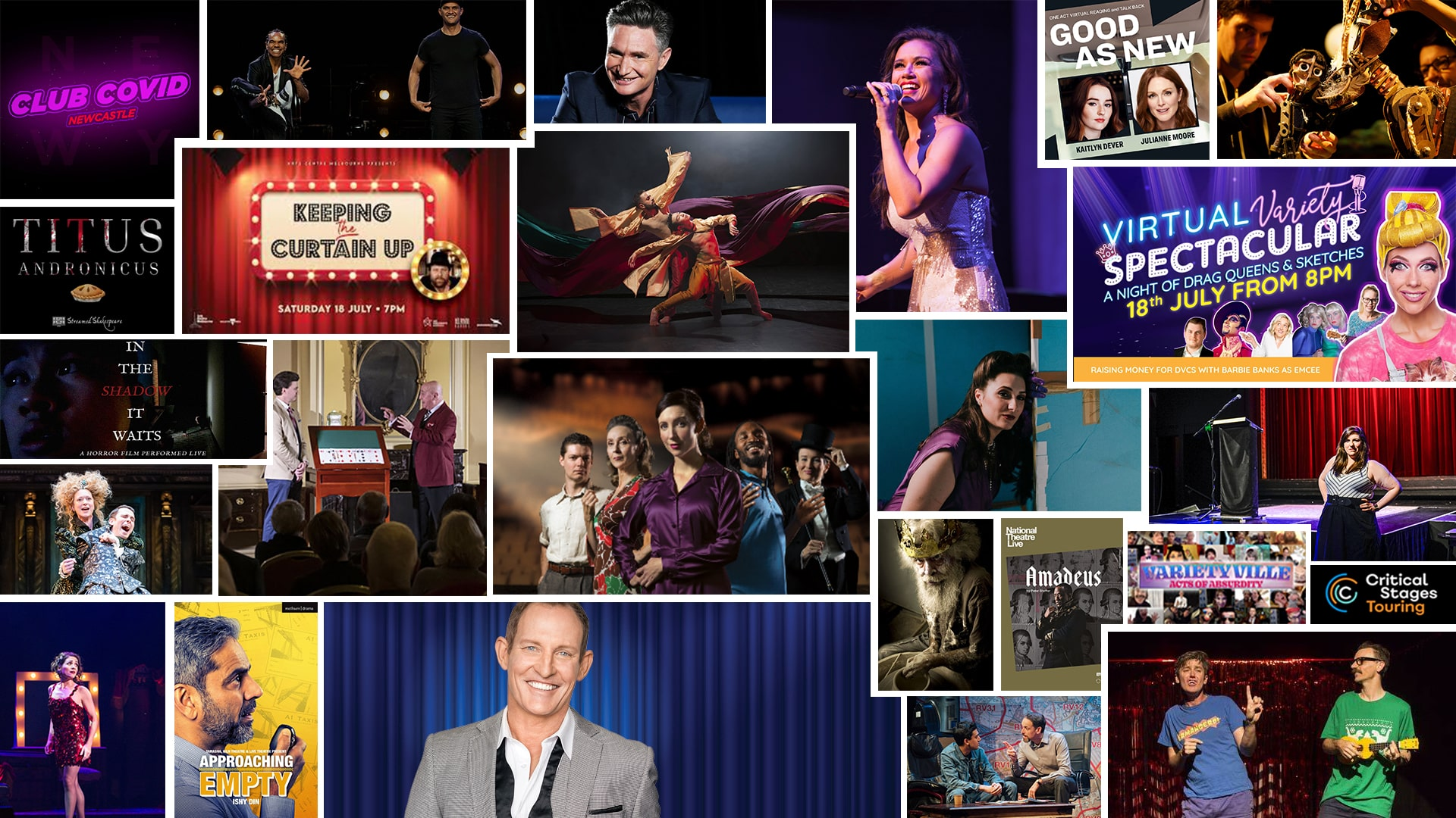 Stage & Stream Theatre & Cabaret at Home July 17 – 23