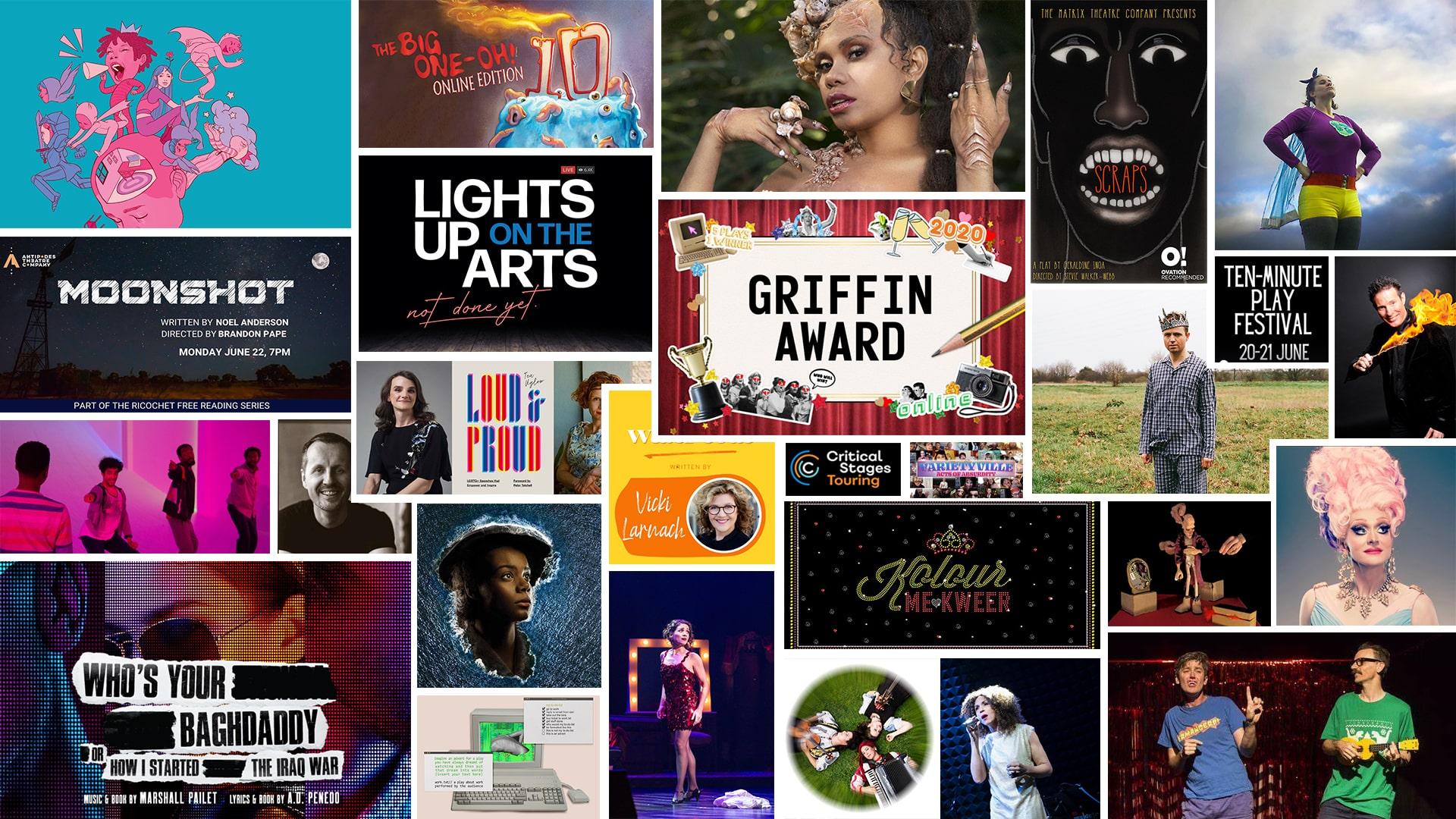 Stage & Stream – Streaming Theatre & Cabaret June 19-25